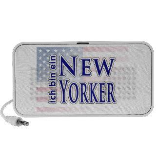 """""""ich bin ein New Yorker"""" PC Speakers"""