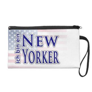 """""""ich bin ein New Yorker"""" Wristlet Purse"""