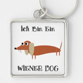 Ich Bin Ein Wiener Dog I Am A Dachshund Keychain