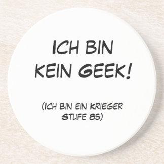 Ich bin kein Geek! Drink Coaster
