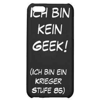 Ich bin kein Geek! Case For iPhone 5C