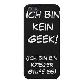 Ich bin kein Geek! iPhone 5 Covers