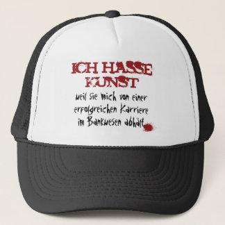 Ich hasse Kunst... Trucker Hat