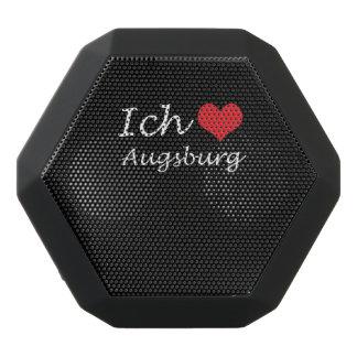Ich liebe  Augsburg  ,I love Augsburg Black Bluetooth Speaker