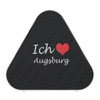 Ich liebe  Augsburg  ,I love Augsburg Bluetooth Speaker