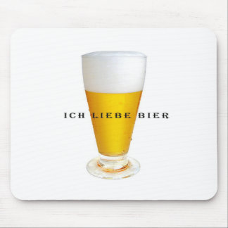Ich Liebe Bier Mousemats