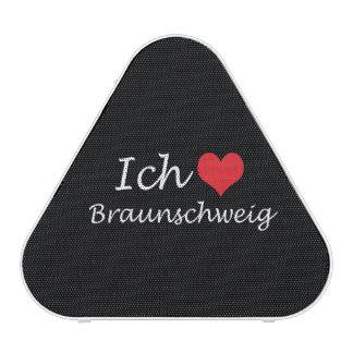 Ich liebe  Braunschweig  ,I love Braunschweig Bluetooth Speaker