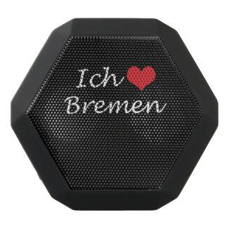 Ich liebe  Bremen  ,I love Bremen Black Bluetooth Speaker