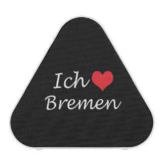 Ich liebe  Bremen  ,I love Bremen Bluetooth Speaker