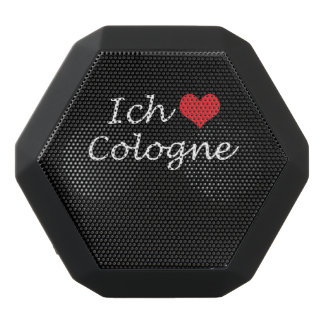 Ich liebe  Cologne  ,I love Cologne Black Bluetooth Speaker