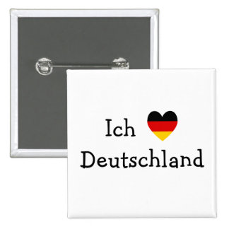 Ich liebe Deutschland Buttons