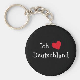 Ich liebe Deutschland Keychain