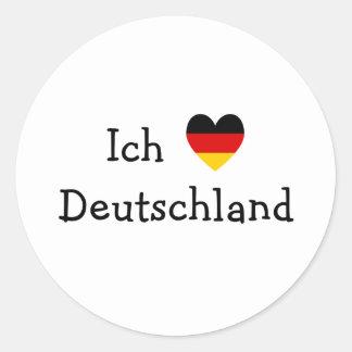 Ich liebe Deutschland Sticker