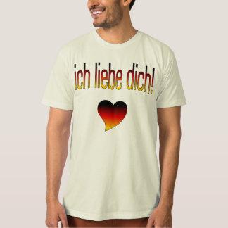 Ich Liebe Dich! German Flag Colors Shirts
