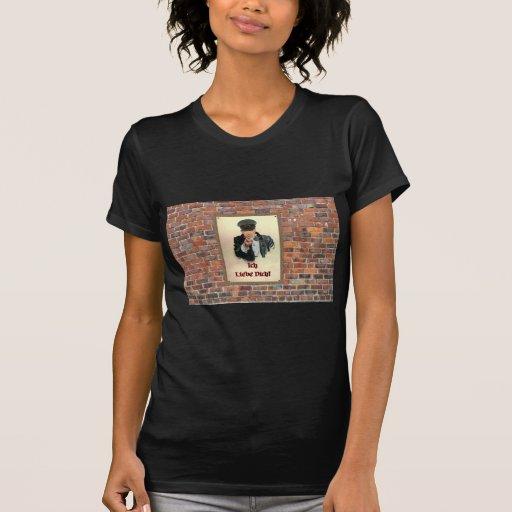 Ich Liebe Dich German Poster Shirts
