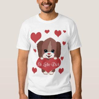 Ich Liebe Dich T-shirts