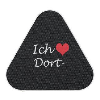 Ich liebe  Dortmund  ,I love Dortmund Bluetooth Speaker