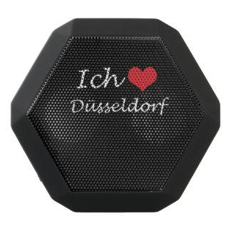 Ich liebe  Dusseldorf  ,I love Dusseldorf Black Bluetooth Speaker