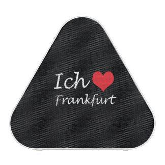 Ich liebe  Frankfurt  ,I love Frankfurt Bluetooth Speaker