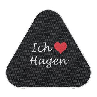 Ich liebe  Hagen  ,I love Hagen Bluetooth Speaker