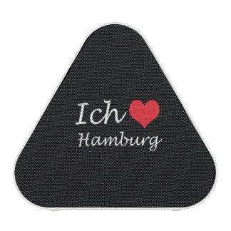 Ich liebe  Hamburg  ,I love Hamburg Bluetooth Speaker