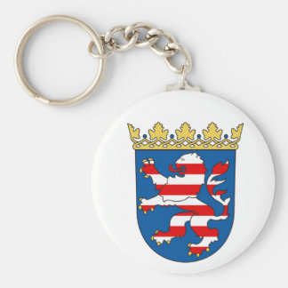 Ich liebe Hessen - Hesse/Germany, Coat of Arms Keychain