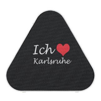 Ich liebe  Karlsruhe  ,I love Karlsruhe Bluetooth Speaker