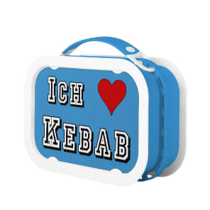Ich Liebe Kebab I love kebab Deutsche German Lunch Box