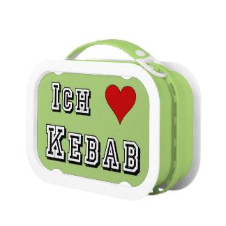 Ich Liebe Kebab I love kebab Deutsche German Lunch Box