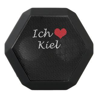 Ich liebe  Kiel  ,I love Kiel Black Bluetooth Speaker