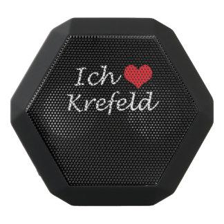 Ich liebe  Krefeld  ,I love Krefeld Black Bluetooth Speaker