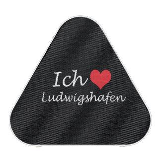 Ich liebe  Ludwigshafen  ,I love Ludwigshafen Bluetooth Speaker