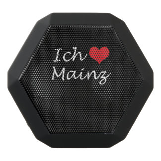 Ich liebe  Mainz  ,I love Mainz Black Bluetooth Speaker
