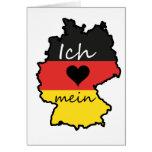Ich liebe mein Deutschland Karten