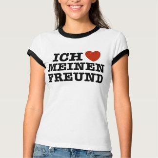 Ich Liebe Meinen Freund T-Shirt