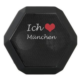 Ich liebe  Munchen  ,I love Munchen Black Bluetooth Speaker