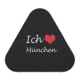 Ich liebe  Munchen  ,I love Munchen Bluetooth Speaker