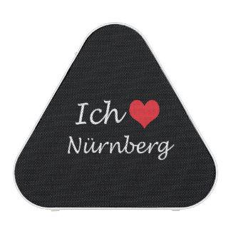 Ich liebe  Nurnberg  ,I love Nurnberg Bluetooth Speaker