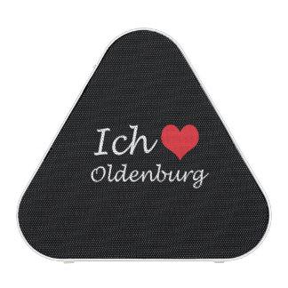 Ich liebe  Oldenburg  ,I love Oldenburg Bluetooth Speaker