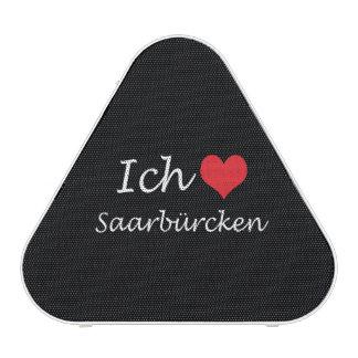 Ich liebe  Saarburcken  ,I love Saarburcken Bluetooth Speaker