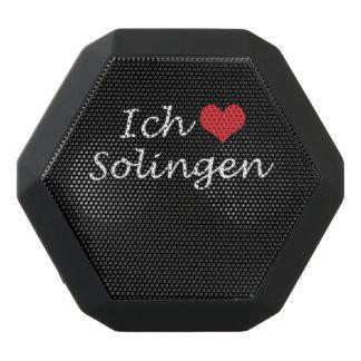 Ich liebe  Solingen  ,I love Solingen Black Bluetooth Speaker