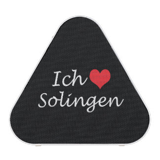 Ich liebe  Solingen  ,I love Solingen Bluetooth Speaker