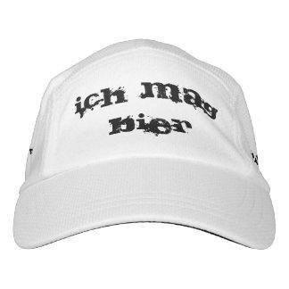 ich mag Bier. I like Beer in German hat. Headsweats Hat