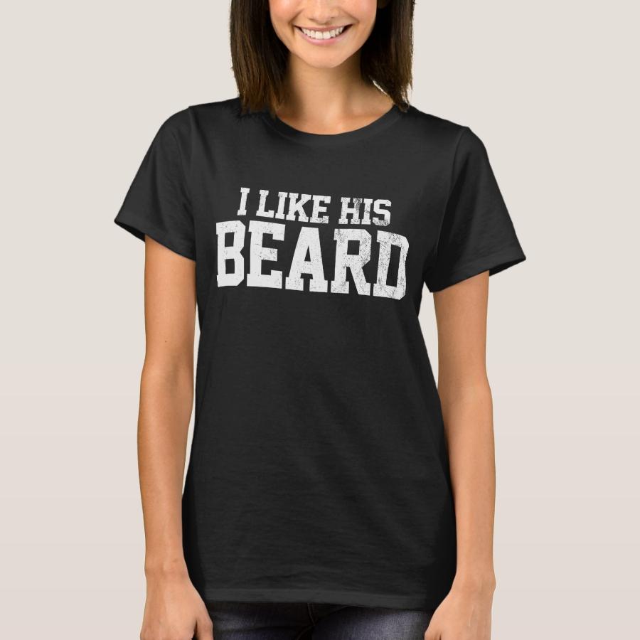 Ich mag seinen Bart T-Shirt - Best Selling Long-Sleeve Street Fashion Shirt Designs