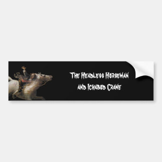 Ichabod Crane of Sleepy Hollow Bumper Sticker