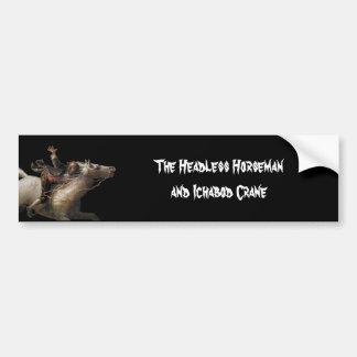 Ichabod Crane of Sleepy Hollow Bumper Stickers