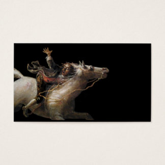 Ichabod Crane of Sleepy Hollow Business Card