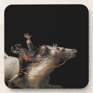 Ichabod Crane of Sleepy Hollow Drink Coaster