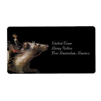 Ichabod Crane of Sleepy Hollow Label