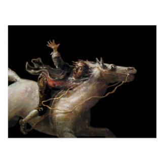 Ichabod Crane of Sleepy Hollow Postcards